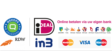 qshops, rdw en Ideal logo`s