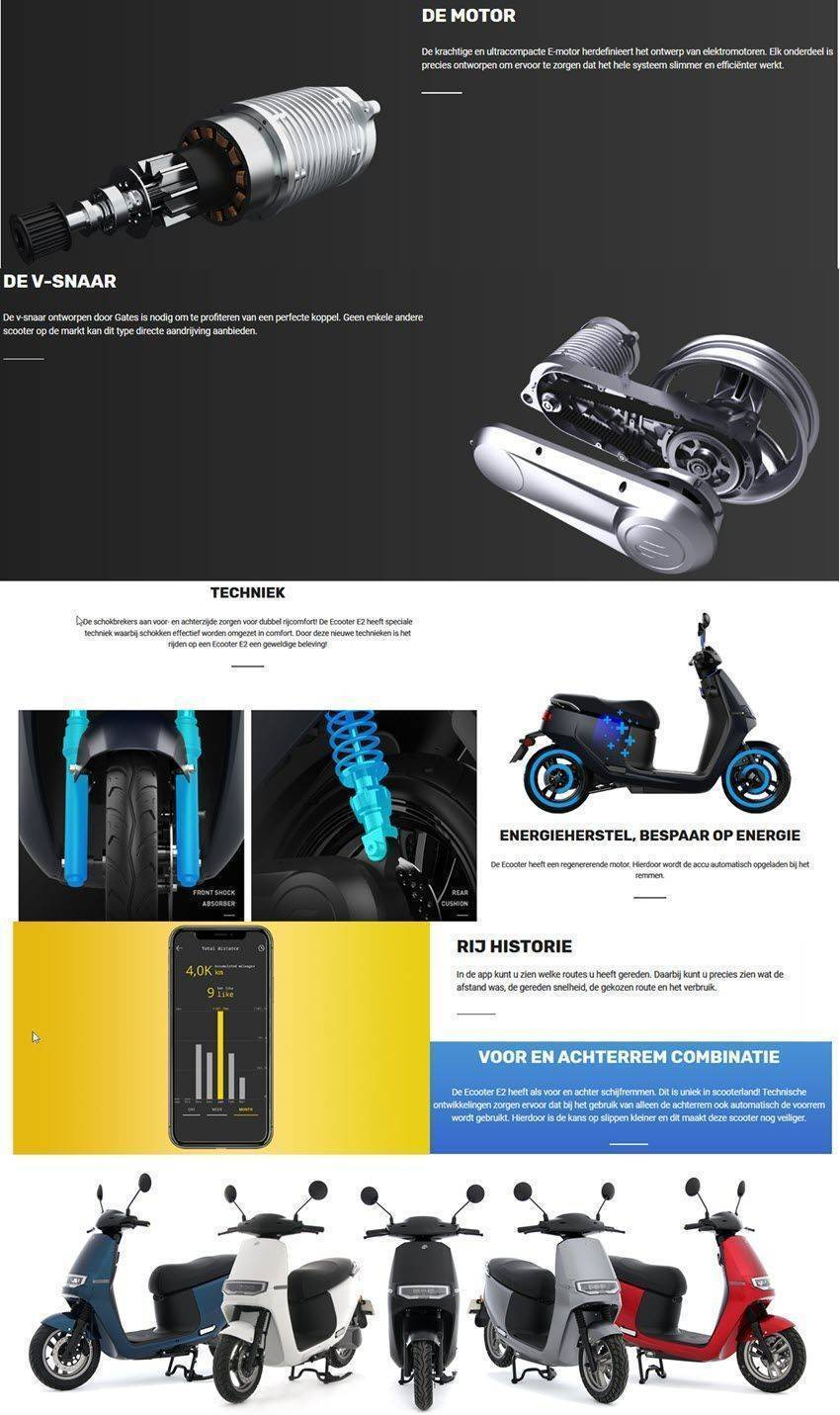ecooter-infographic-specificatie
