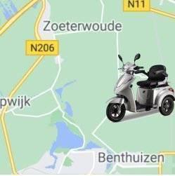 Scootmobiel kopen in Zoeterwoude of Benthuizen