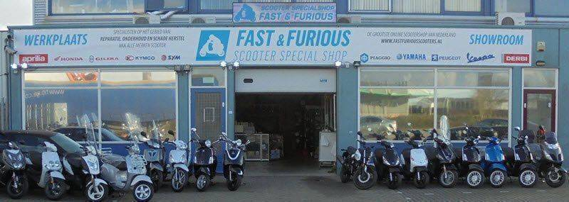 Fast-Furious-scooter-winkel-showroom
