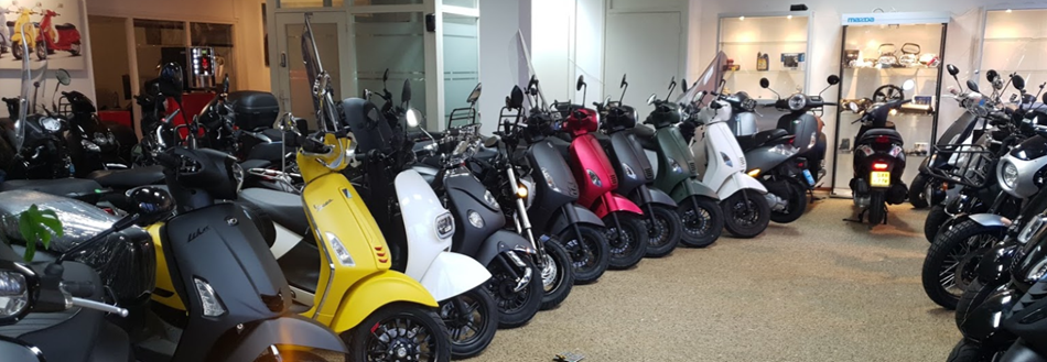 Fast & Furious scooters showroom