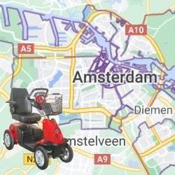 scootmobiel Amsterdam