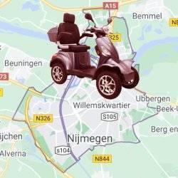 scootmobiel Nijmegen