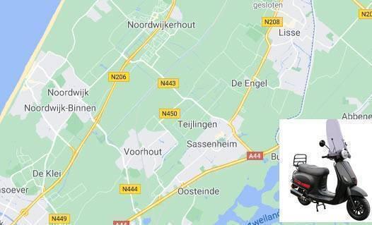 scooter kopen Noordwijk of Sassenheim Zuid-Holland