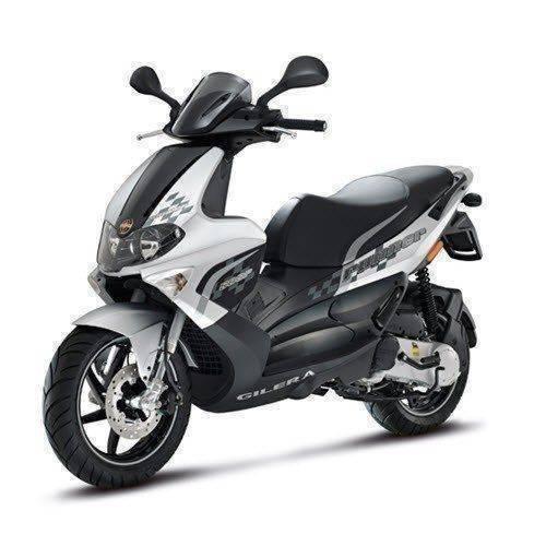 Ongekend Gilera Runner 50 SP   De stoere Gilera scooter DB-49