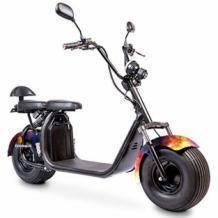 Ecruiser X1 Fat tire scooter space 1