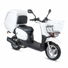 BTC Delivery scooter