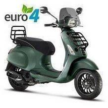 vespa sprint custom mat leger groen euro 4