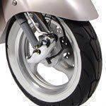 scooter band met witte randen