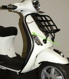 valbeugel voorkant scooter